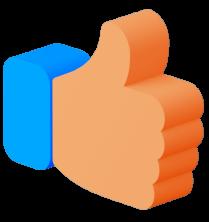 digital agency thumbs up